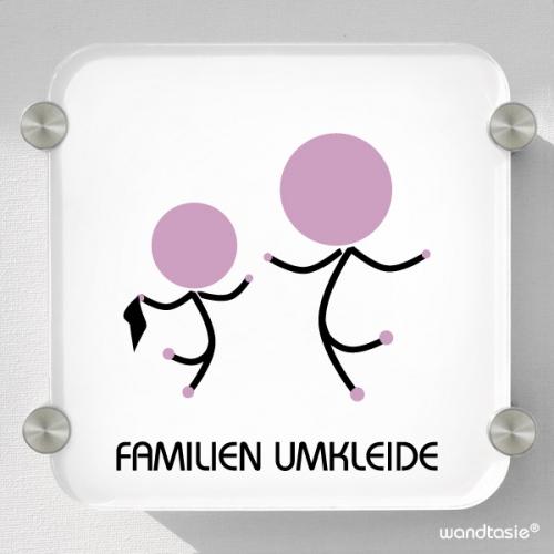 Familienumkleide